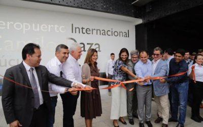 Apertura del Aeropuerto Internacional Camilo Daza